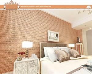 2017 Home decor 3D Brick Wall Sticker Self Adhesive Foam ...