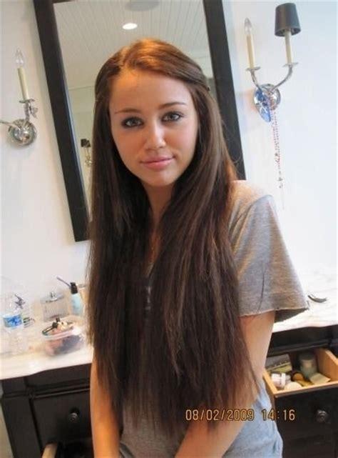 Rare Pic Her Hair Is Beautiful  Hannah Montana Days