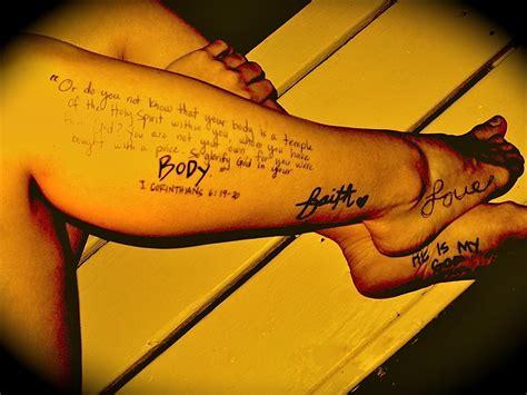 scripture tattoos designs ideas  meaning tattoos