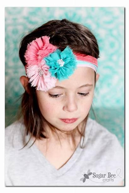 Headbands Hair Easy Elastic Ties Sew Diy