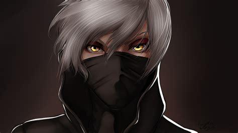 Hd Hintergrundbilder Gesicht Maske Weiß Haar Gelb Augen