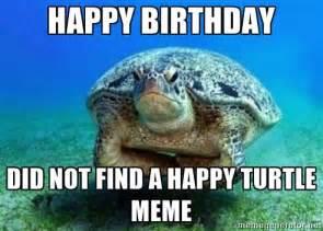 Happy Birthday Meme Turtle
