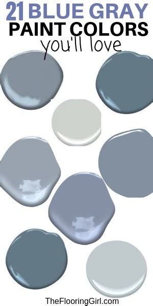 best blue gray paint colors 21 stylish dusty the flooring