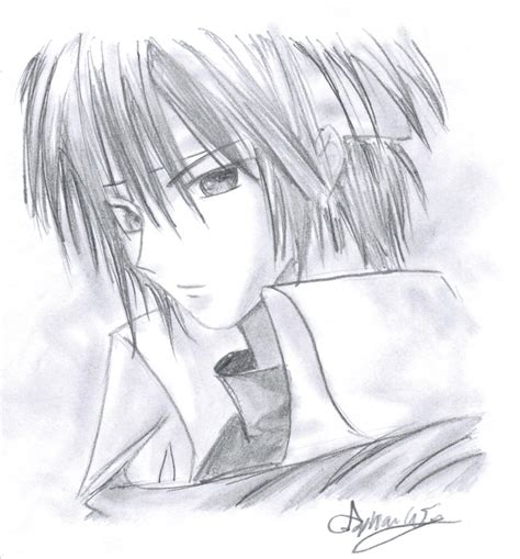anime cool boy drawing anime boy with bandana by mangafox23 on deviantart