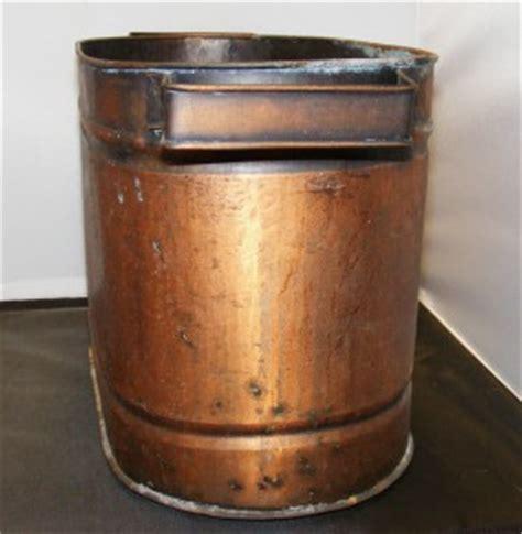vat tub vintage 2 handled oval shaped copper pot vat basin tub