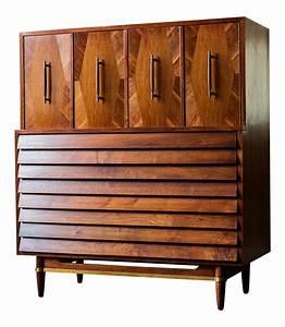 American Of Martinsville QuotDaniaquot Tallboy Dresser Chairish