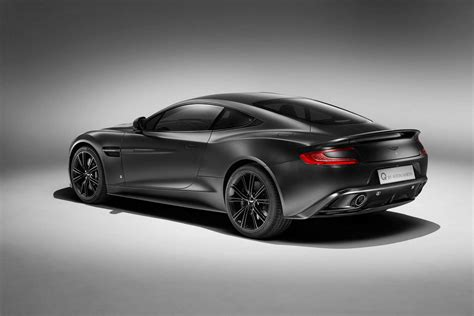 Q By Aston Martin Reveals New Jet Black Vanquish Coupe
