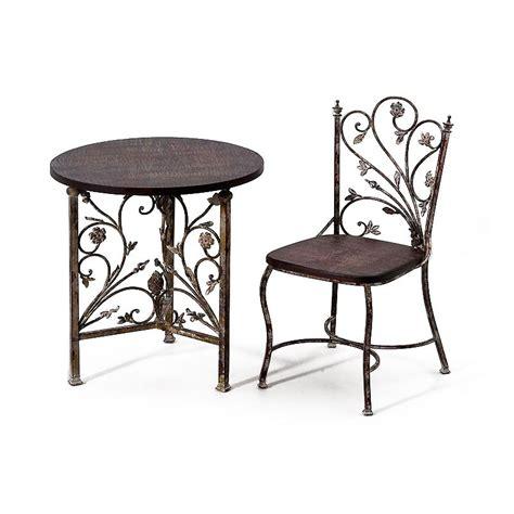 chaises fer forg chaises fer forge et bois chaise idées de décoration