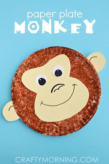paper plate monkey new year craft ideas for preschoolers all topic 2637