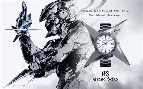 grand seiko introduces spring drive ninja shuriken model
