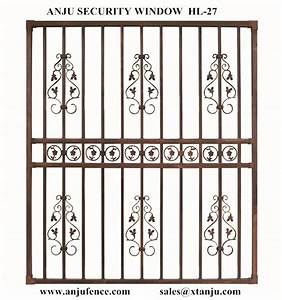 Iso Certificated Of House Window Grill Design /new Window
