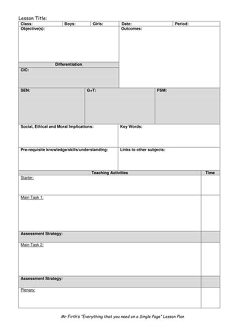 blank lesson plan template lesson plan blank templates by schmidty707 teaching resources tes