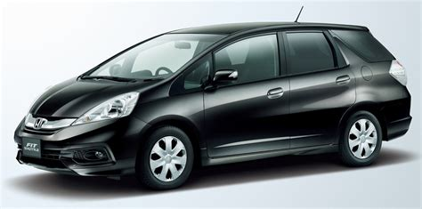 Honda Fit Shuttle given minor nip and tuck in Japan Image ...