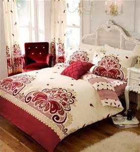 plum king size duvet quilt cover set sheet matching
