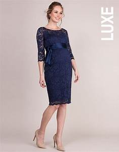 blush lace maternity cocktail dress seraphine With robe grossesse dentelle