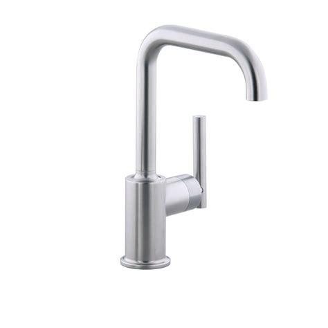 kohler purist faucet kohler purist single handle standard kitchen faucet with