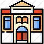 Clipart Library Icon Icons Bibloteca Building Clipground