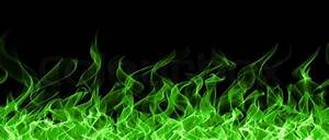 Seamless chemical fire and flame border | Stock Photo ...