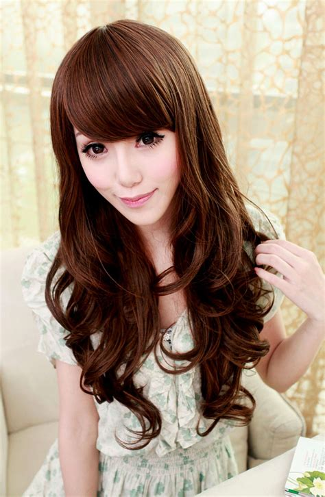 Cute Asian Hairstyles For Long Hair  Women Hairstyle Ware