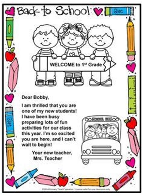 Postcard Template By Teaching For Tomorrow Teachers Pay 25 Best Ideas About Preschool Welcome Letter On