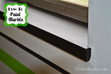 marble window sills paint flusterbuster