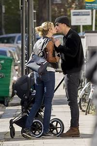 Josh Hartnett and Tamsin Egerton share a kiss as they take ...