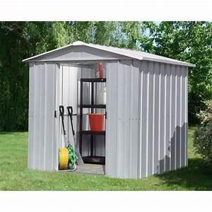 Amazon Abri De Jardin Metal : yardmaster abri m tal 4 79 m achat vente abri jardin ~ Edinachiropracticcenter.com Idées de Décoration