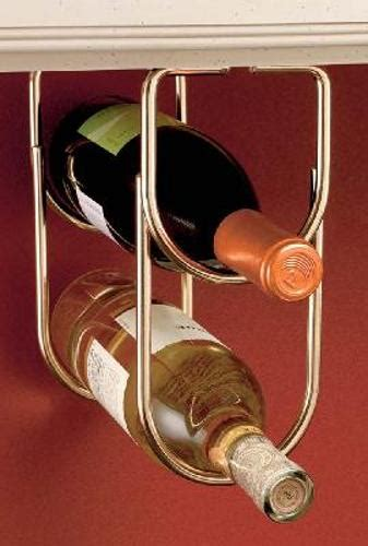 double wine bottle rack brass plate br