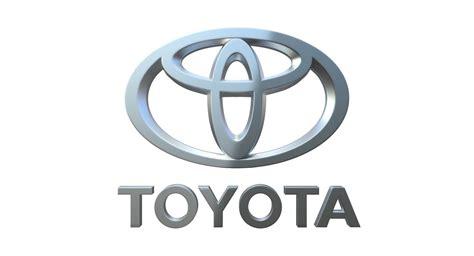 logo de toyota toyota logo 3d model