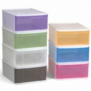 Boite Tiroir Plastique : boite de rangement boites tiroirs 2 2 ~ Teatrodelosmanantiales.com Idées de Décoration