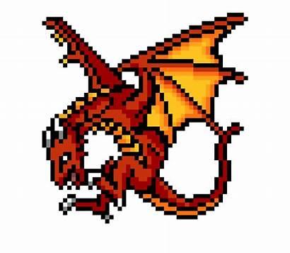 Pixel Dragon Grid Pokemon Google Minecraft Dragones