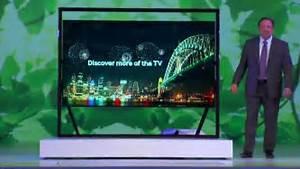 Tv 85 Zoll : lcd fernseher un85s9 mit 85 zoll ces 2013 video ~ Watch28wear.com Haus und Dekorationen