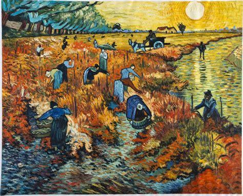 The Red Vineyard Van Gogh Reproduction  Van Gogh Studio