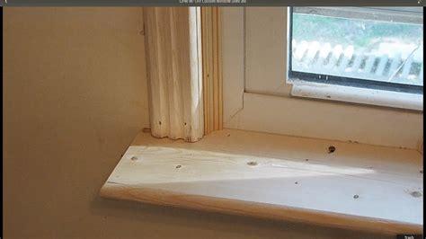 How To Frame A Window Sill by Gpw 96 Diy Custom Window Shelf And Door Window Trim