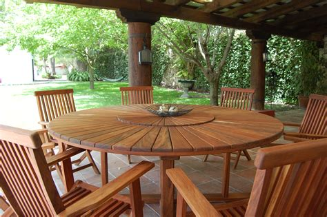 HD wallpapers patio dining table with lazy susan