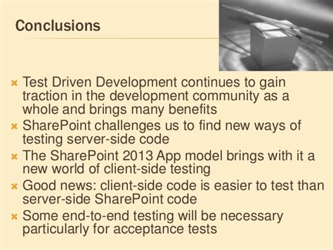 Spca2013 Test Driven Development With Sharepoint 2013