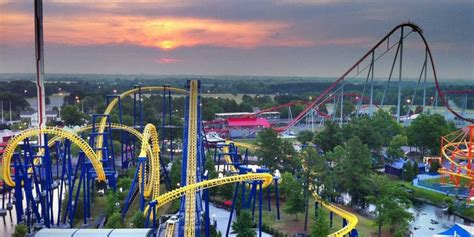best rides in usa best amusement parks in america business insider