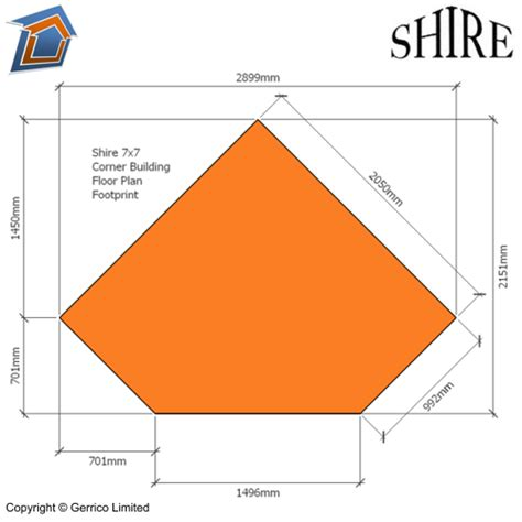 best cabin floor plans shire corner 7x7 shed