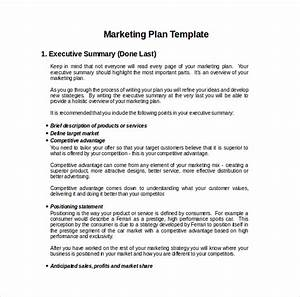 22 microsoft word marketing plan templates free With simple marketing plan template for small business