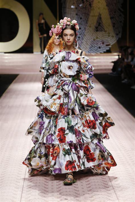 milan fashion week dolcegabbana spring  collection