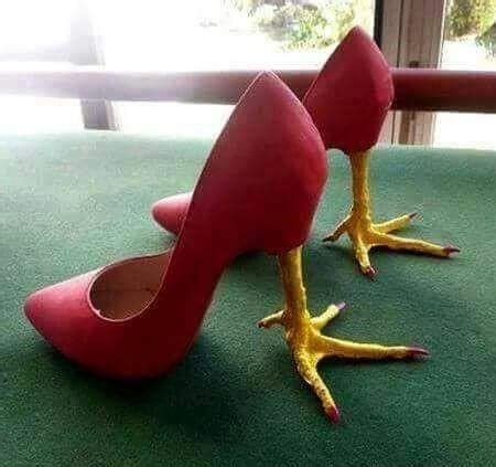 high heels chicken legs funnyexpo