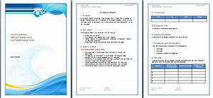 report template microsoft word templates With ms word templates for project report
