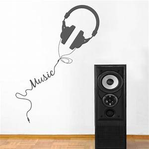 Wall decal quotes music quotesgram for Music wall decals
