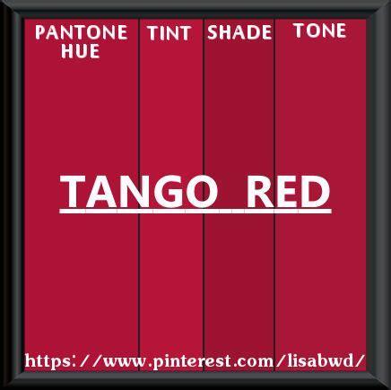 pantone seasonal color swatch tango red color thesaurus