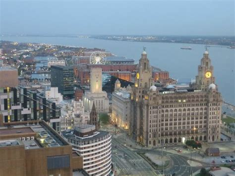 View Of The Mersey And The Liver Building From Panorama 34