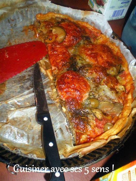 cuisiner la seche tarte ensoleillée aux légumes grillés et au boeuf séché cuisiner avec ses 5 sens