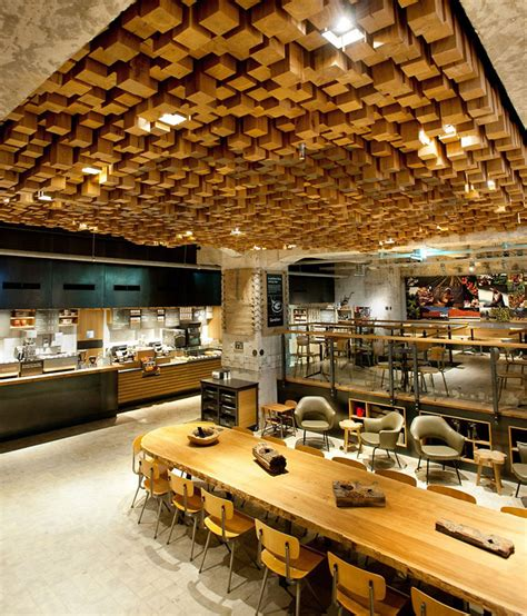 Starbucks Concept Store In Amsterdam by Starbucks Concept Store Amsterdam 187 Retail Design
