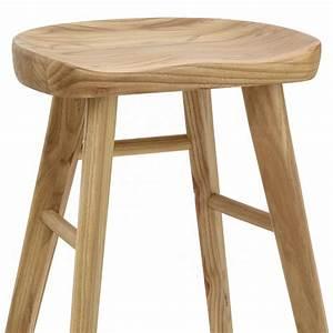 Tabouret Rondin De Bois : chaise de bar en bois jin monde du tabouret ~ Teatrodelosmanantiales.com Idées de Décoration