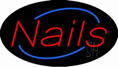 Neon Sign Nails Signs Animated