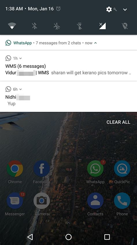 whatsapp s notifications now work properly on android 7 0